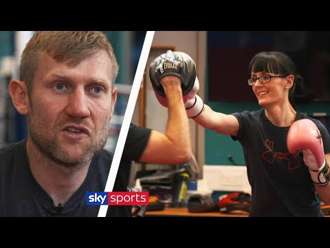 The future of boxing training? 🥊 | Tony Jeffries' Box 'N Burn Academy