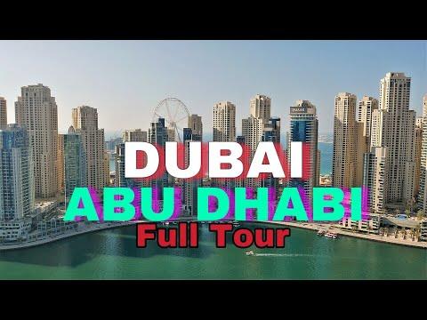 FULL DUBAI TOUR | MIRACLE GARDEN | BURJ KHALIFA | FERRARI WORLD | BOLLYWOOD PARKS | TALKSANDTRAVEL