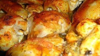 Курица, запеченная с соевым соусом  Пошаговый рецепт