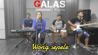 Gambar cover Ndarboy genk - Wong sepele (cover) Nitha ardhania ft Galas music