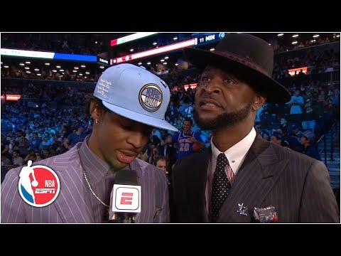 Ja Morant drafted No. 2 by Grizzlies, fights off emotions alongside dad | 2019 NBA Draft