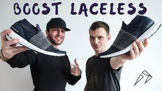 распаковка и обзор Adidas Ultra BOOST LACELESS
