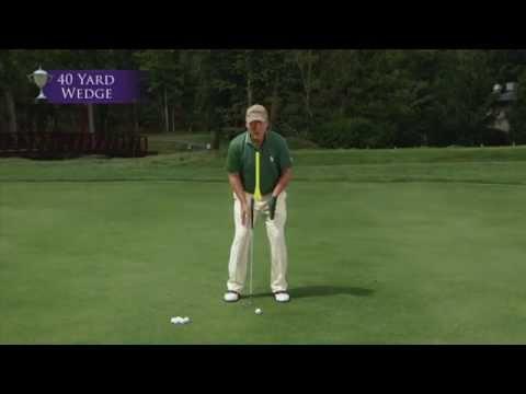 Tom Watson Golf Lessons II – 40 Yard Wedge