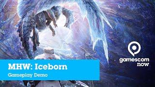 #gamescom2019 - Monster Hunter World: Iceborne - Gameplay Demo [ENGLISH] | IGN @ gamescom now