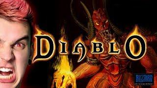 Diablo 1 + HD Mod - Chwalmy Czarnego Pana 666 - Na żywo
