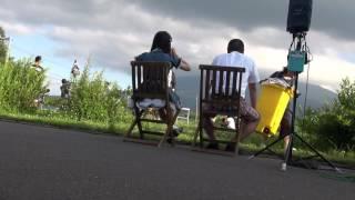 八幡平キャラバン ダンス前待機 5きげんテレビ 結城多聞 さん アンダーエイジ.