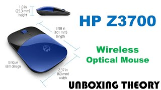 HP Z3700 Wireless Mouse Unboxing
