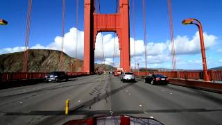 Golden Gate Bridge Drive - Northbound