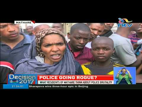 What residents of Mathare think about police brutality