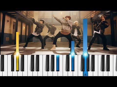 BTS - Mic Drop - Piano Tutorial - 방탄소년단 - Bangtan Boys Piano Cover