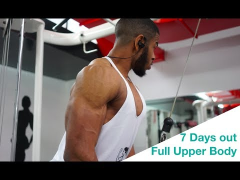 Full Upper Body Workout | UKBFF Athlete | Vlog #11 Part 2