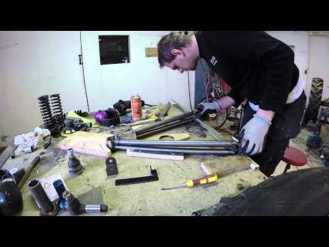 Building Super 7 locost Ep6 Front a-arms
