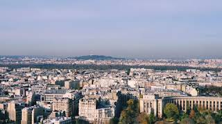 2019년 파리 에펠탑으로본 가을 전경