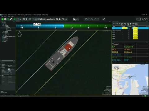 EIVA NaviSuite - Multibeam and hydrographic surveys - Runline handling in NaviPac
