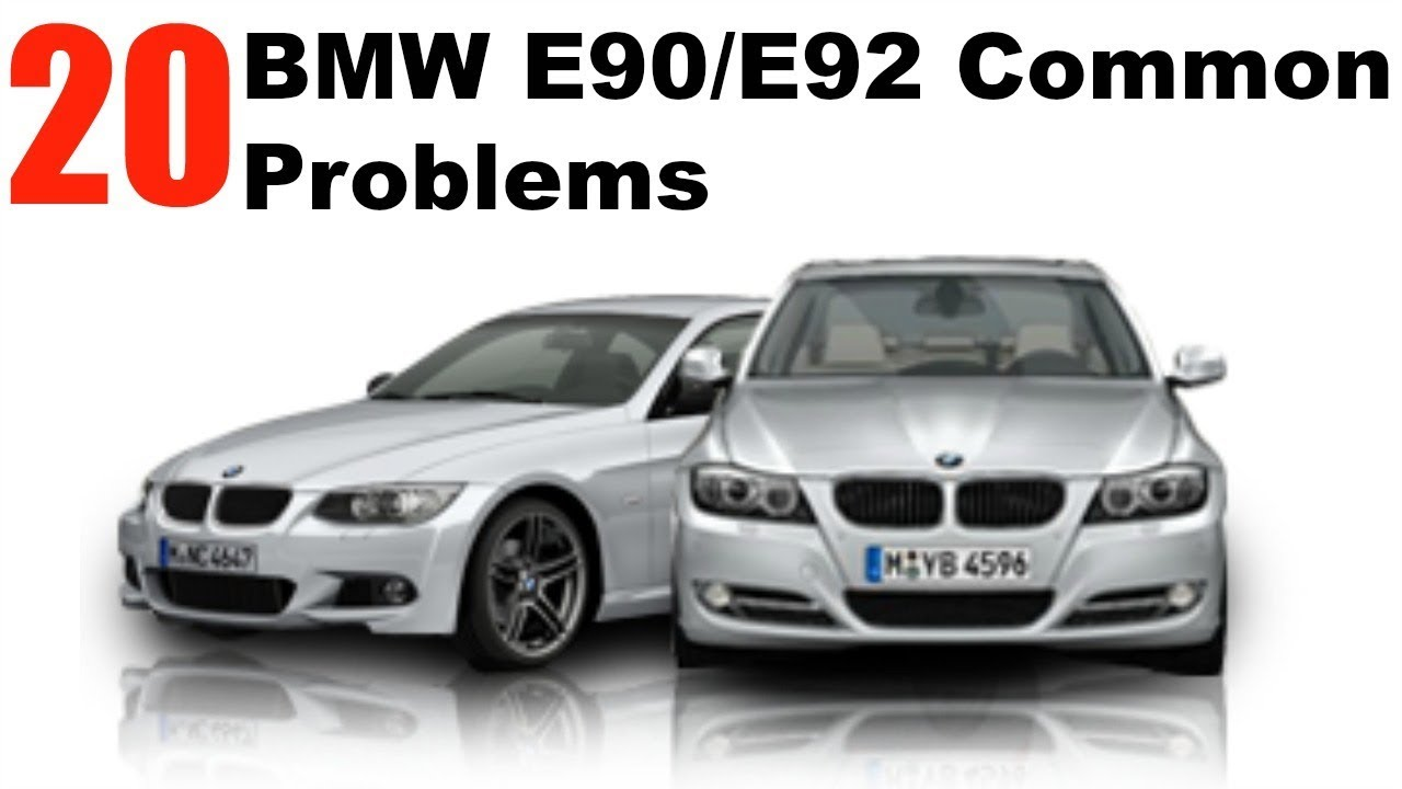20 MOST COMMON BMW E90/E92 Problems!