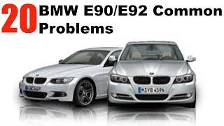 20 MOST COMMON BMW E90/E92 Problems!