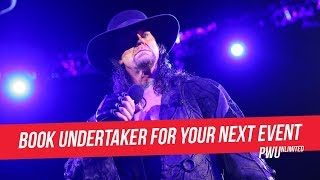 The Undertaker Removes WWE From Social Media, Now Taking Bookings