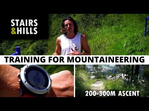 The Best Training For Mountaineering - Stairs and Hills [E1]