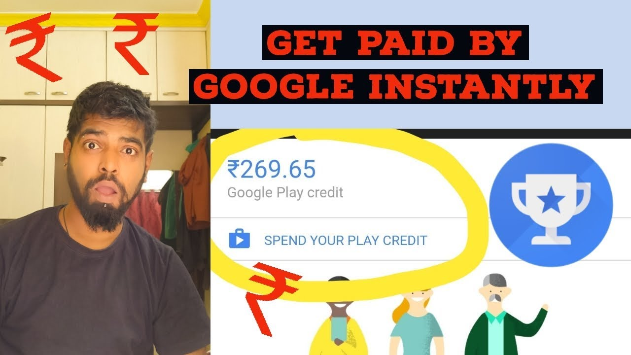 How to earn money by Google Opinion Rewards | Get Paid Instantly & Purchase apps in Google Pla Store