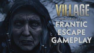 Resident Evil Village - Frantic Escape Gameplay!