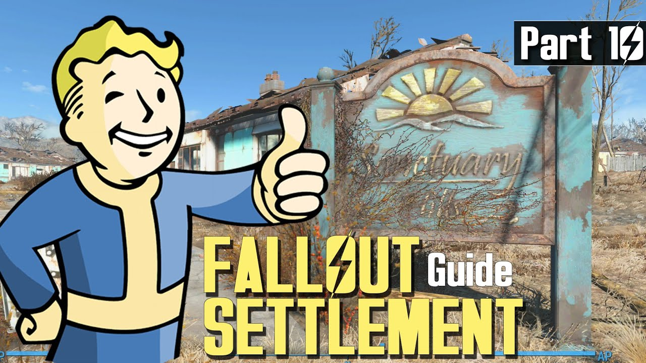 Fallout 4 Settlement Build Guide 10 Picket Fence Magazine Locations Youtube