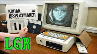 Kodak DisplayMaker: $2,000 Video Graphics System from 1988
