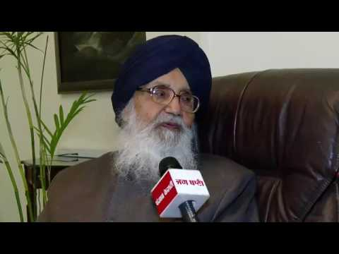 Exclusive Interview with CM Parkash Singh Badal