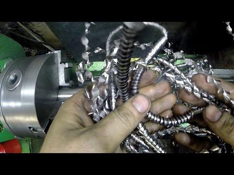 Сверление титана - drilling titanium
