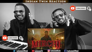 Indian Twin Reaction   DIVINE - MIRCHI Feat. Stylo G, MC Altaf & Phenom   Official Music Video