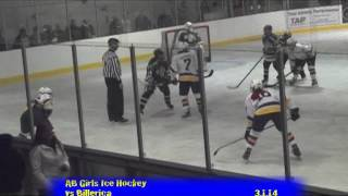 Acton Boxborough Varsity Girls Hockey vs Billerica 3/1/14