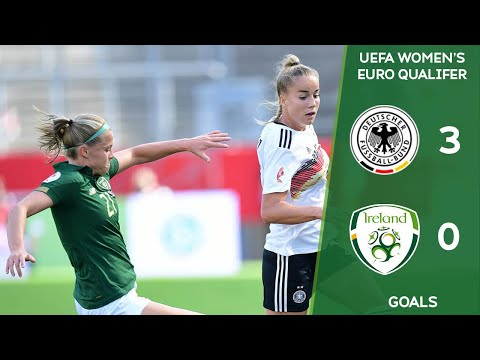 #IRLWNT GOALS | Germany 3-0 Ireland - UEFA Women's Euro 2022 Qualifier