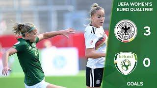 #IRLWNT GOALS   Germany 3-0 Ireland - UEFA Women's Euro 2022 Qualifier