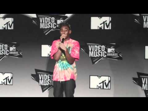 """""""This Guy Wants a Good Story."""" Tyler, The Creator VMA Q&As"""