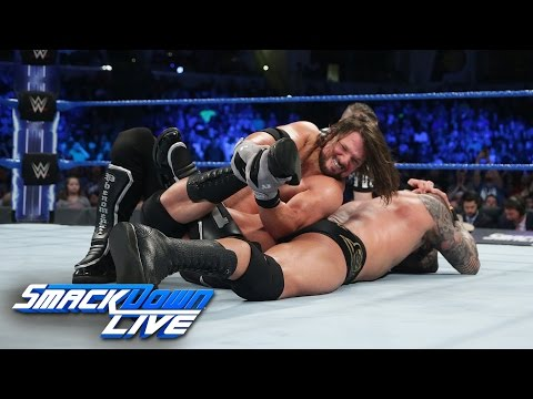 Randy Orton vs. AJ Styles - Winner to headline WrestleMania: SmackDown LIVE, March 7, 2017
