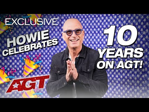 Howie Mandel Reminisces About His DECADE On AGT - America's Got Talent 2019