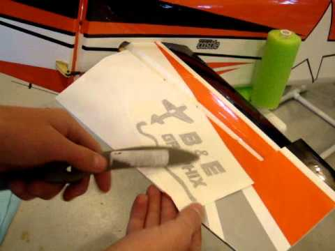 RC Plane Decals