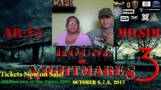 AR-15 Milsim's:Operation House of Nightmares 3