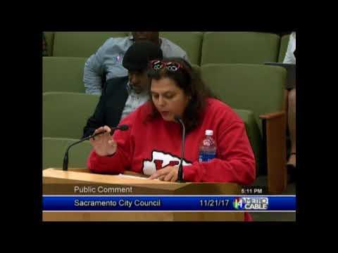 Indigenous Peoples' Day public comments at Sacramento City Council