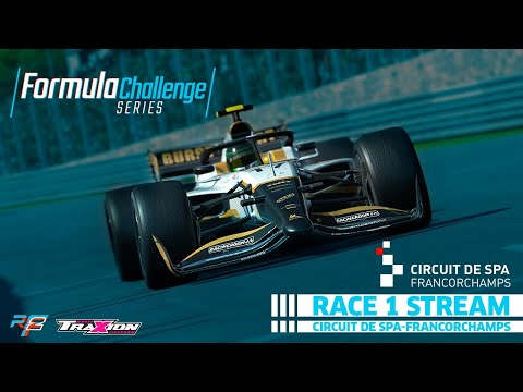 rFactor 2 Formula Challenge Round 1: Spa Francorchamps