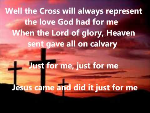 Just For Me By Donnie Mcclurkin lyrics