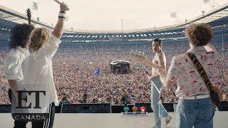 On Set Of Bohemian Rhapsody With Rami Malek