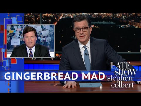 Tucker Carlson\'s New Target: Gingerbread People