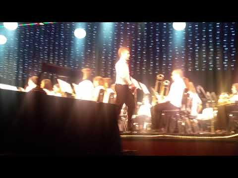 MUST SEE!!! Dylan gives an intro at the Depew Middle School Concert like a boss and wrecks everyone