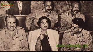 أم كلثوم - اغنية  أنساك  - مسرح حديقة الأزبكية 1 فبراير 1962