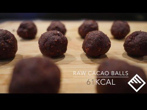 FitoMetrics  - Raw Cacao Balls