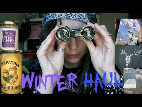 Winter Haul: Gothwear, Antiques, Books & More
