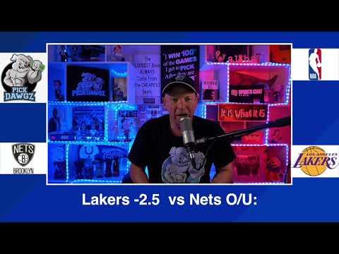 Los Angeles Lakers vs Brooklyn Nets 2/18/21 Free NBA Pick and Prediction NBA Betting Tips