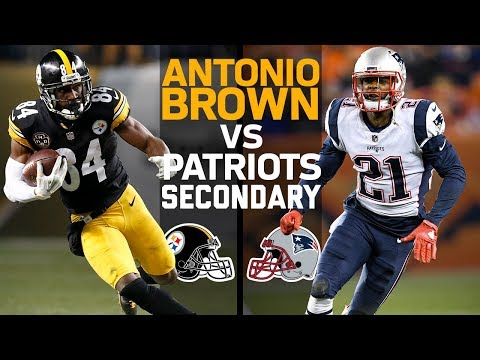 Antonio Brown vs. Patriots Secondary: Can NE Stop the Super Star WR? | Scouting Report | NFL Network