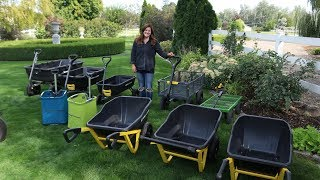 Checking Out Some Garden Carts + Giveaway! 🙌🌿// Garden Answer