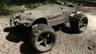 Extreme Mudding // Traxxas E-Revo VXL Mud & Water Bash